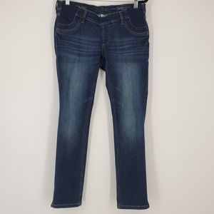 DL1961 Angel Maternity Mid Rise Skinny Jeans Sz 28